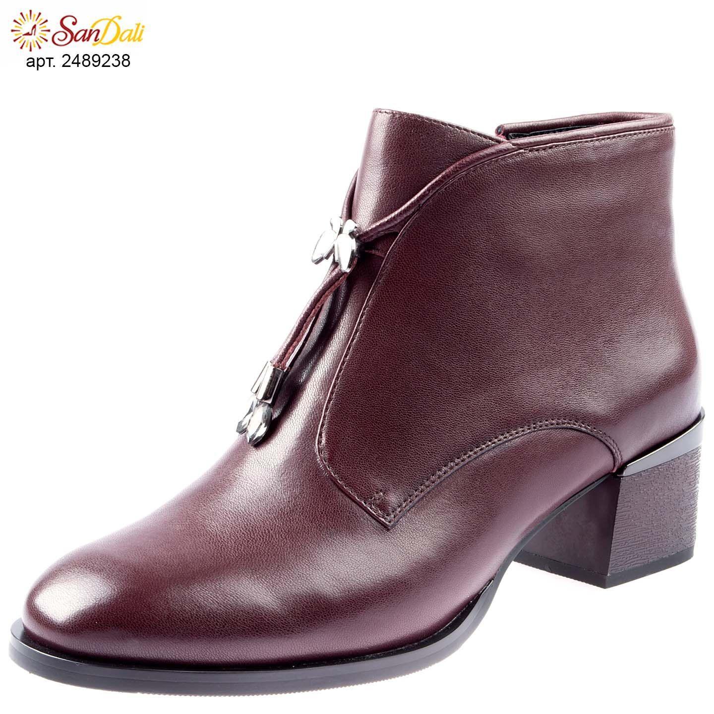 b7deb6e7b20 Ботинки женские осенние GRA 6880 q доступные размеры  34